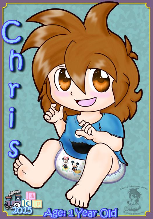 Chris CAPcon 2015 Badge by BabyChrisFox