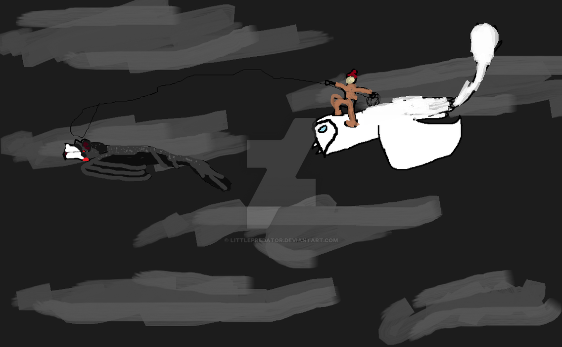 dark flight by LittlePredator