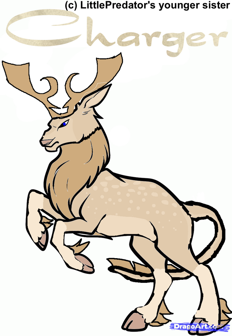 Charger|stag|HARPG by LittlePredator