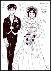 Old drawings: Wedding