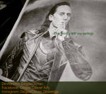 Pencil Drawing: Loki WIP 2