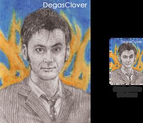 Tenth Doctor - Pencil Mini portrait