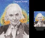 First Doctor - Pencil Mini portrait