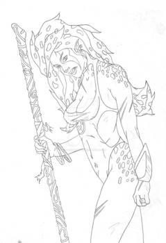 Cheetara sketch