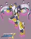 Megaman X Boss OC: AirBomber Seagull