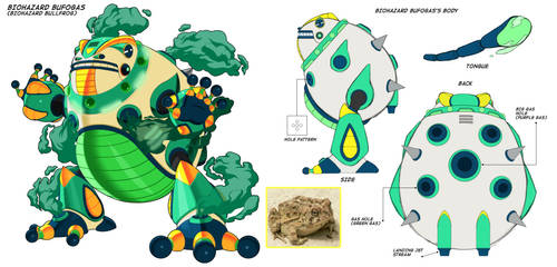 Concept Art: Biohazard Bufogas by Exerionz
