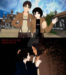 MMD ML X AOT It's Time I Leave My Dear Sister by AmberTheDemonWolf