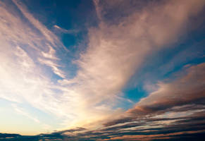 Sunset Sky Stock 3 by mindym306