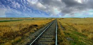 Railway Tracks Stock