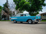1957 Chevrolet Belair Car Stock