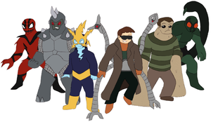 Marvel Project - Sinister Six by Gaiash