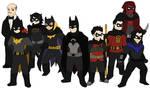 Bat Family by Gaiash
