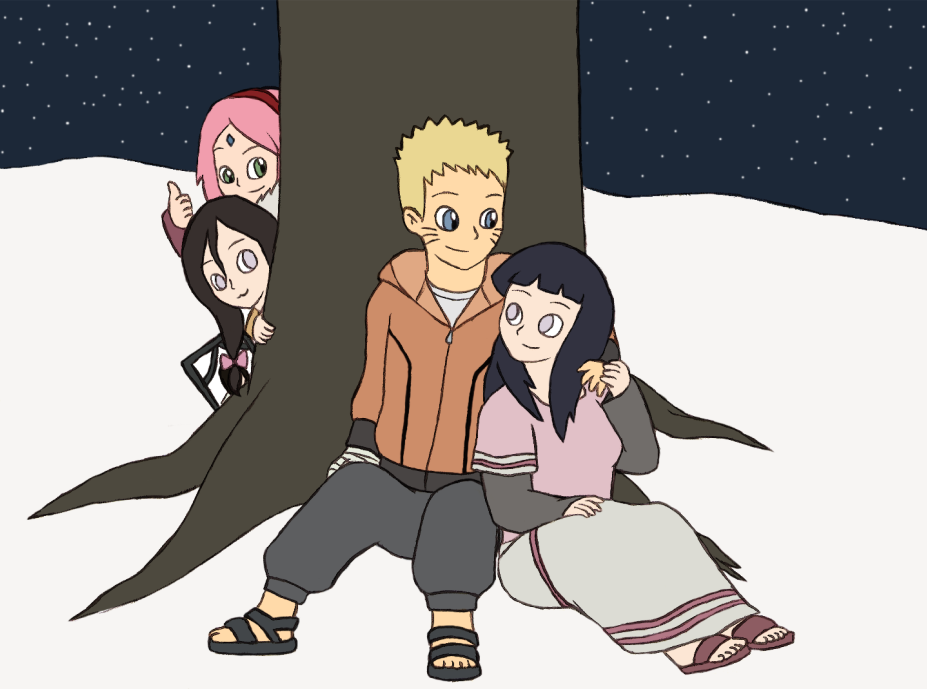 NaruHina - Shippers on Deck by Gaiash