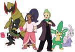 Pokemon 10 Years Later - Iris and Cilan