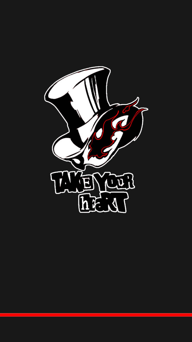 Persona 5 - Take Your Heart Phone Wallpaper 2 by ...
