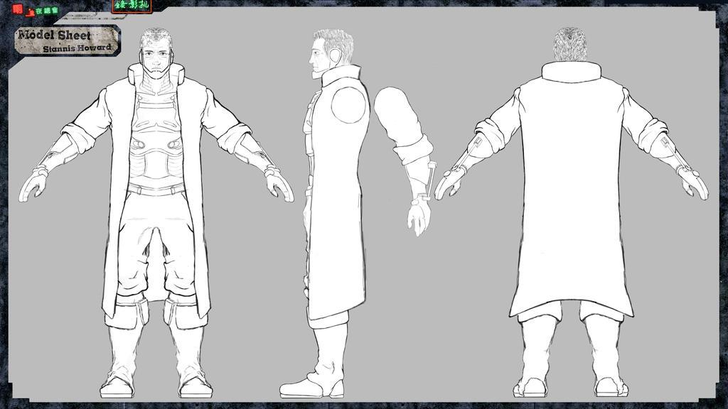 Stannis Model Sheet by DayPie