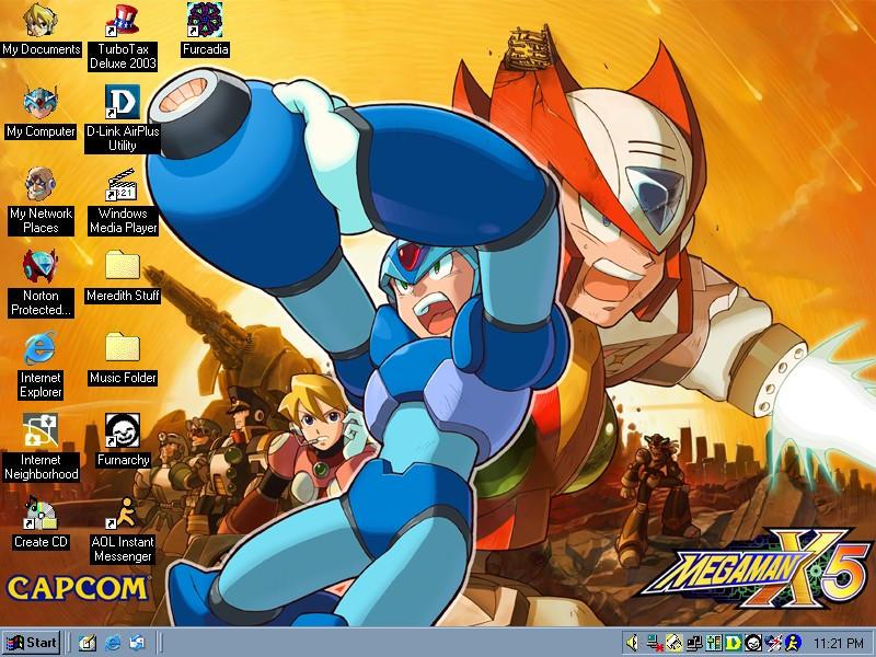 Mega Man by SilverStar2