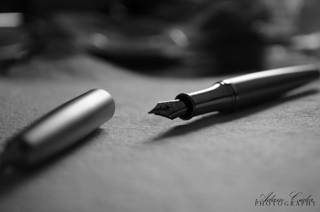 The gallery for --> Pencil Writing On Paper Black And White