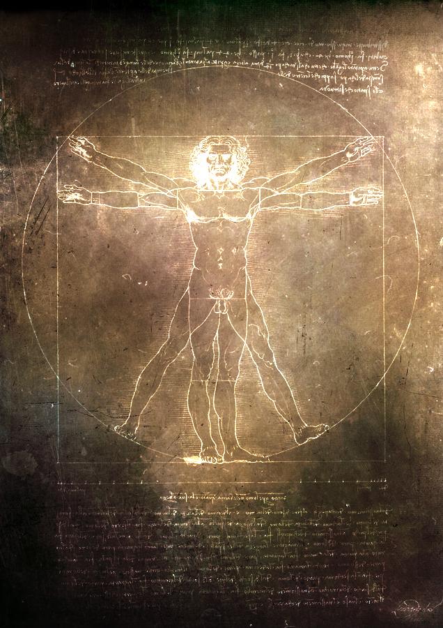 Vitruvian Man Iphone Wallpaper
