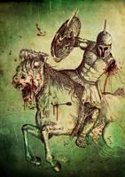 Spartan Zombie Horse Rider by csideradam
