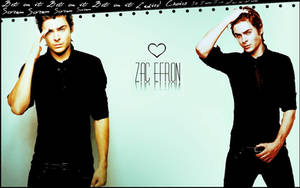 Efron wallpaper by Asiulka94