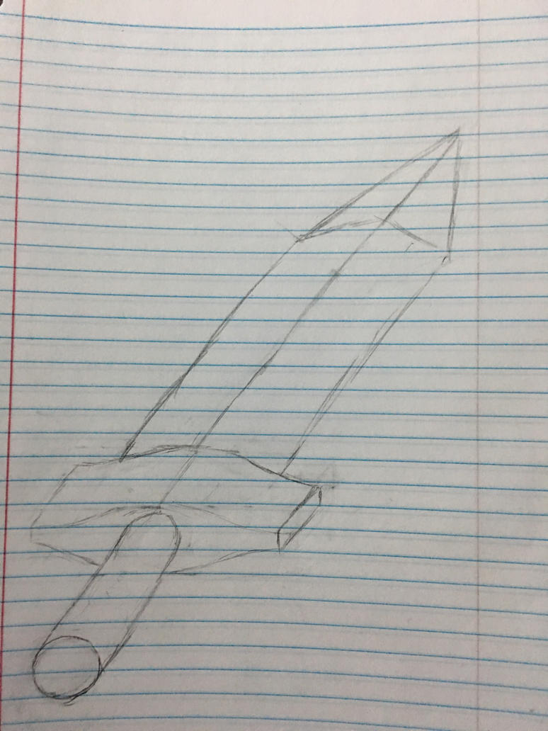 Designing a simple sword with basic forms by AdMCoopR