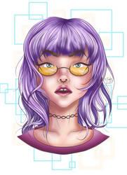 Lilac Girl by M-LA-Taylor