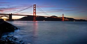 Golden Gate Bridge by 2-0-1-9