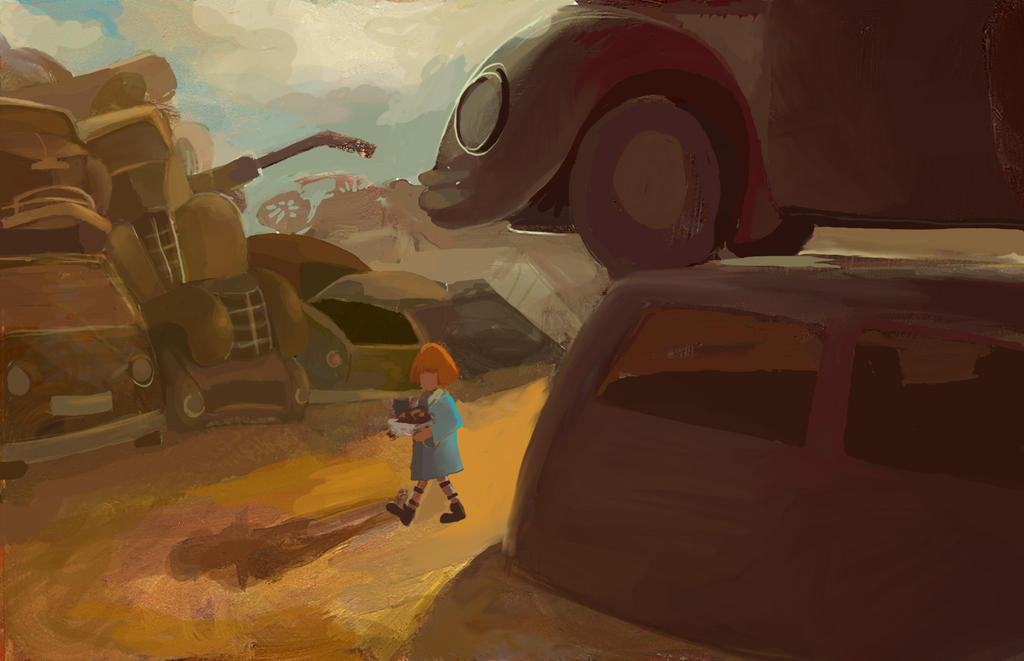 Jack in the Junkyard by DoodleBuggy