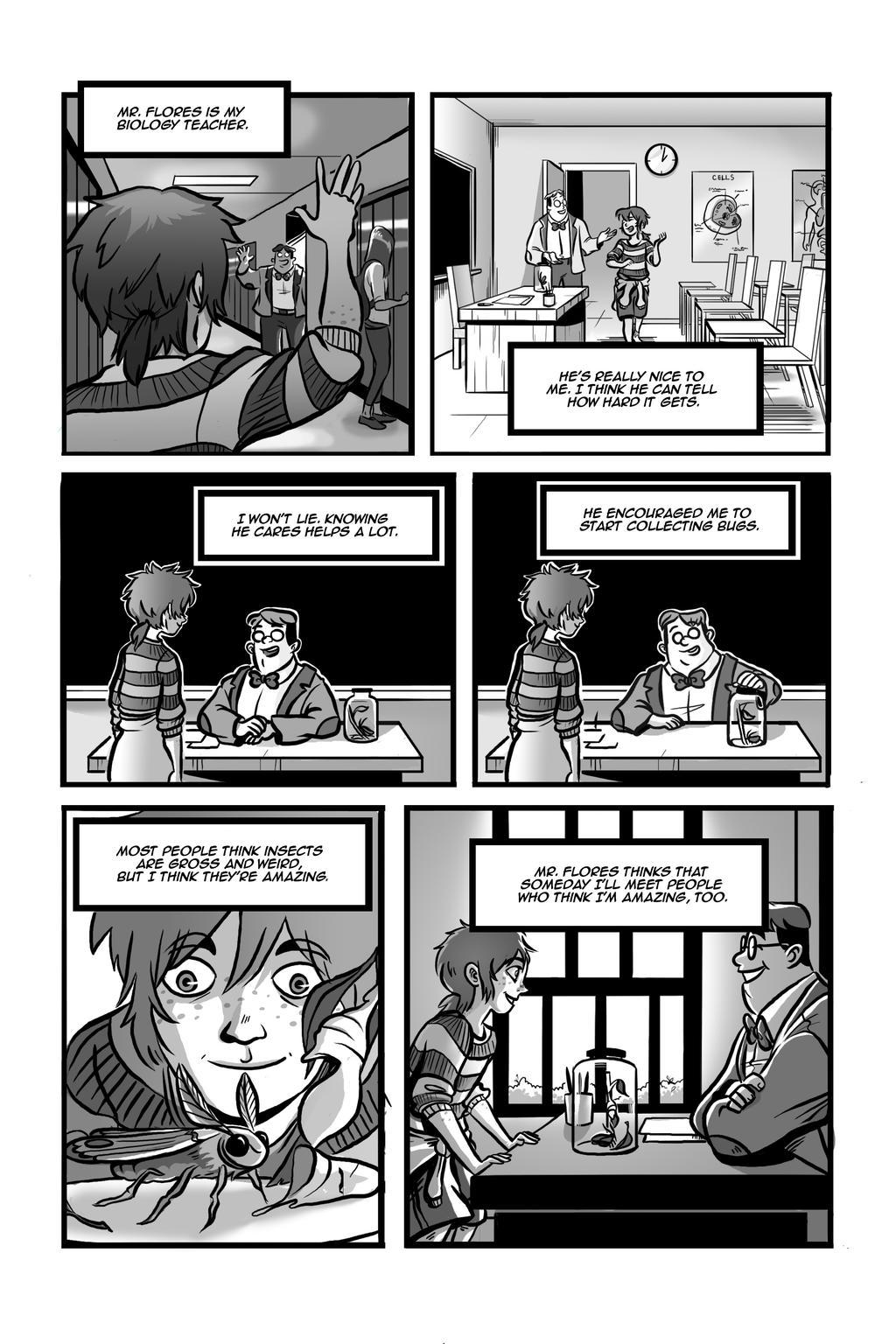 Metamorphosis Page 3 by DoodleBuggy