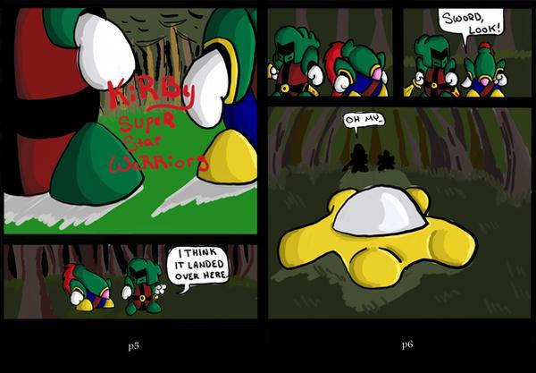 Kirby Super Star Warriors 3 by teamrocketavenger