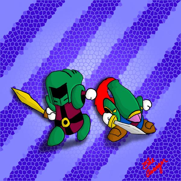 Knightly Brotherhood by Avi-the-Avenger