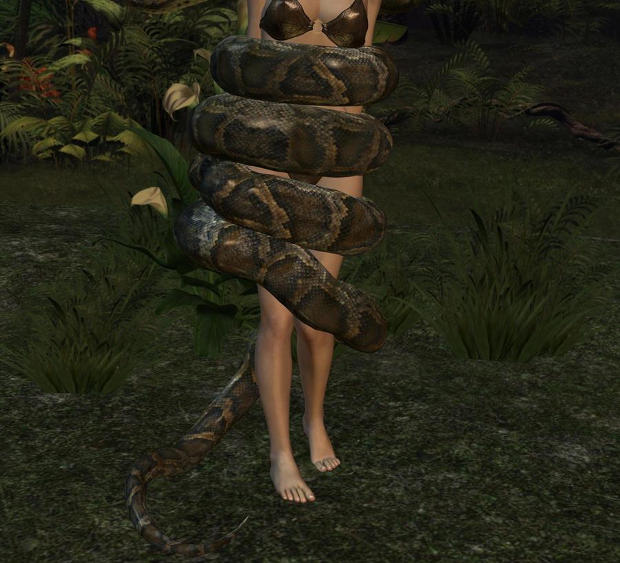 Jungle Girl Snake