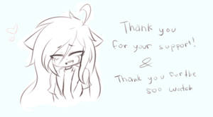 Thank you! by Kiriga-me