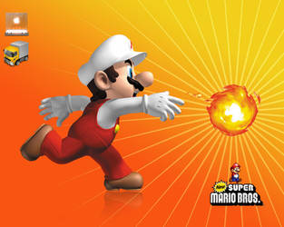Mario by Flashouille
