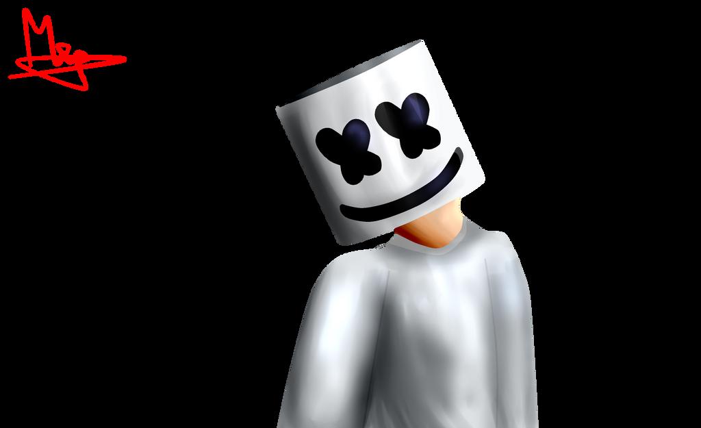 Marshmello DJ Fan Art By StacyGabita