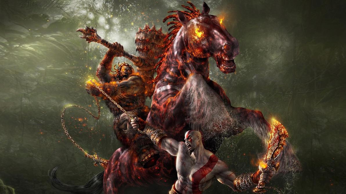 картинки на рабочий god of war
