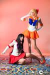 Sailor Mars and Venus 1