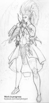 Pathfinder- Elf Witch