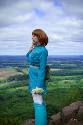 Nausicaa Cosplay: Valley of the Wind