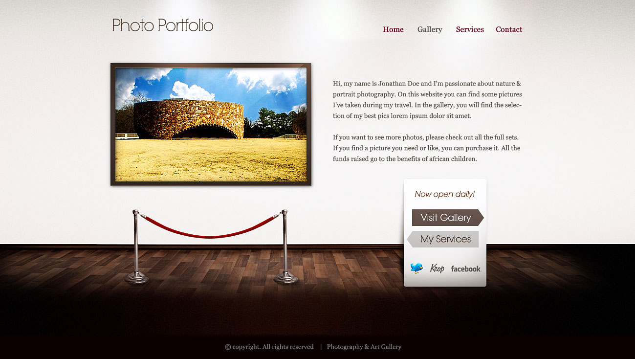 Art Gallery Template. barsky gallery contemporary art gallery 49 ...