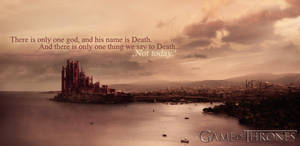 Game of Thrones Wallpaper - Syrio Quote
