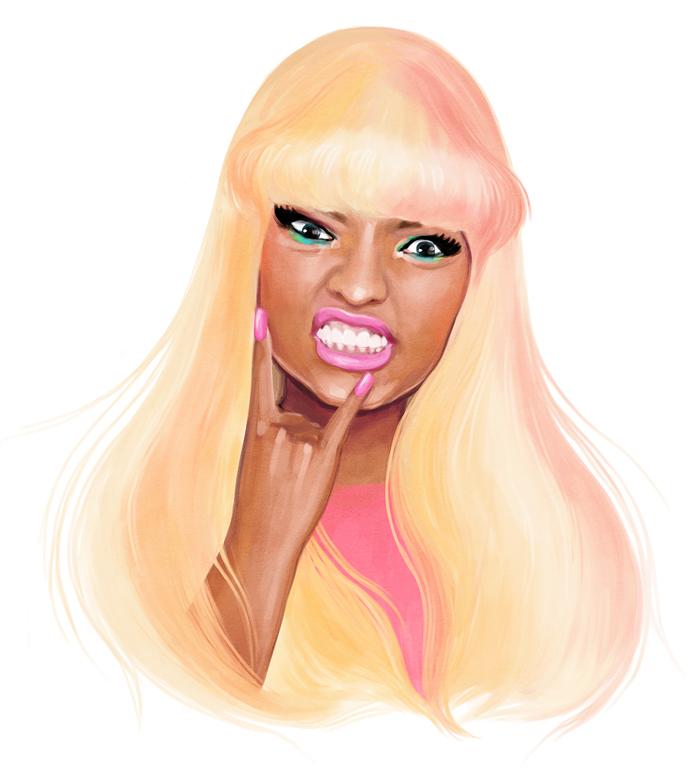 Nicki Minaj.. by Manso0n