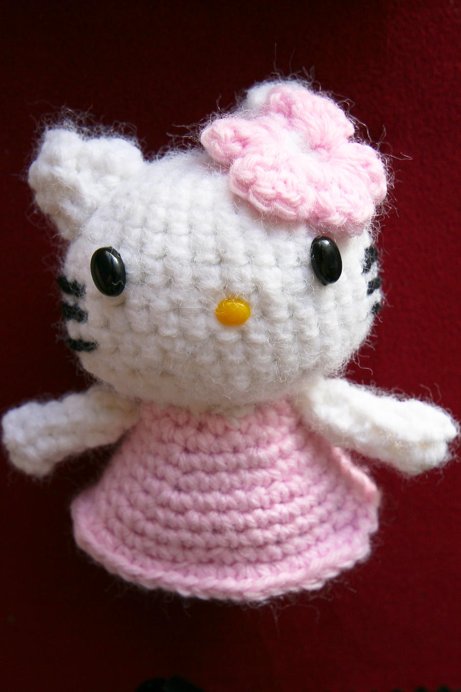 Amigurumi Human Ear Pattern : Hello Kitty Amigurumi by SykoSam on DeviantArt