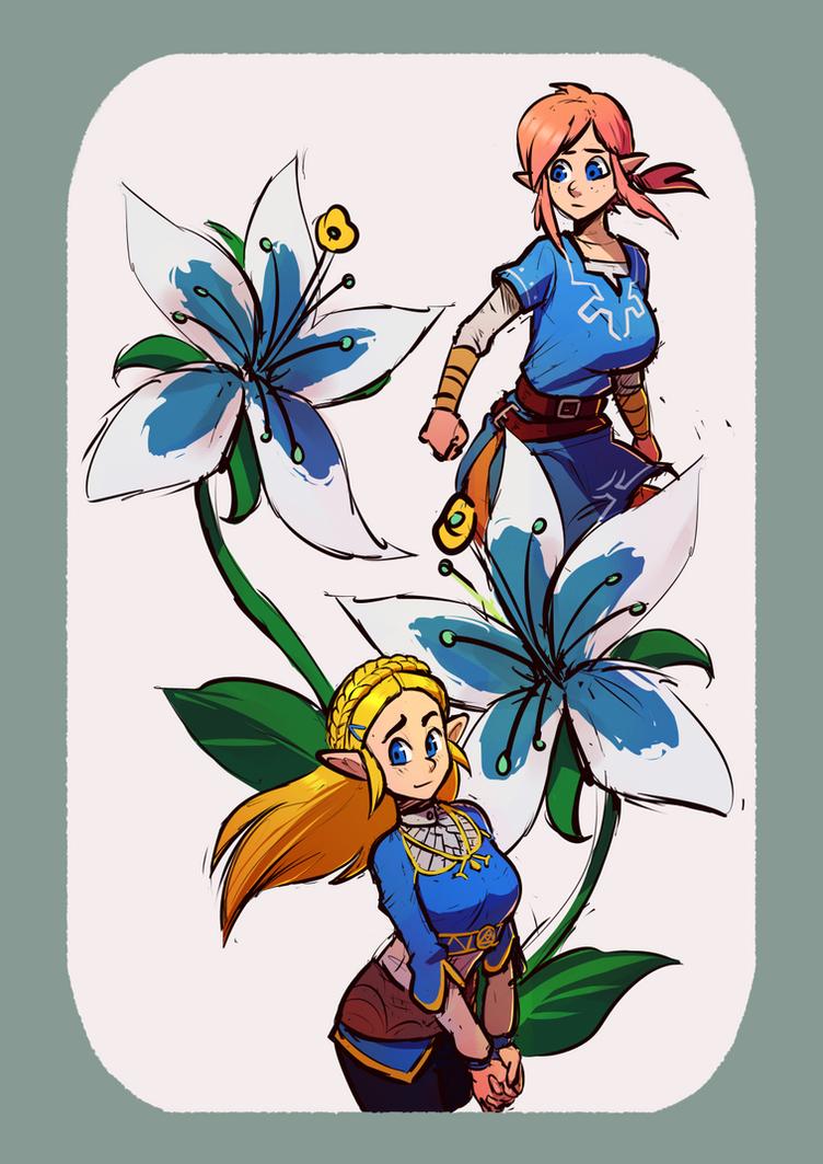 Flowers by Brellom