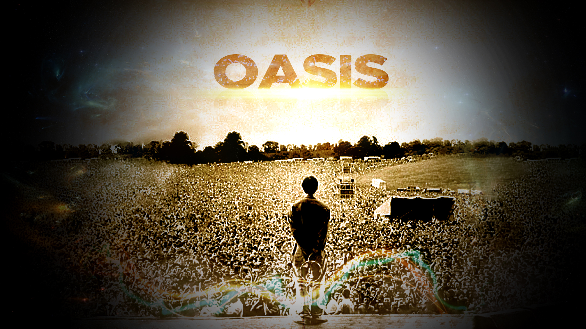 Oasis Wallpaper by InVation on DeviantArt Oasis Band Wallpaper