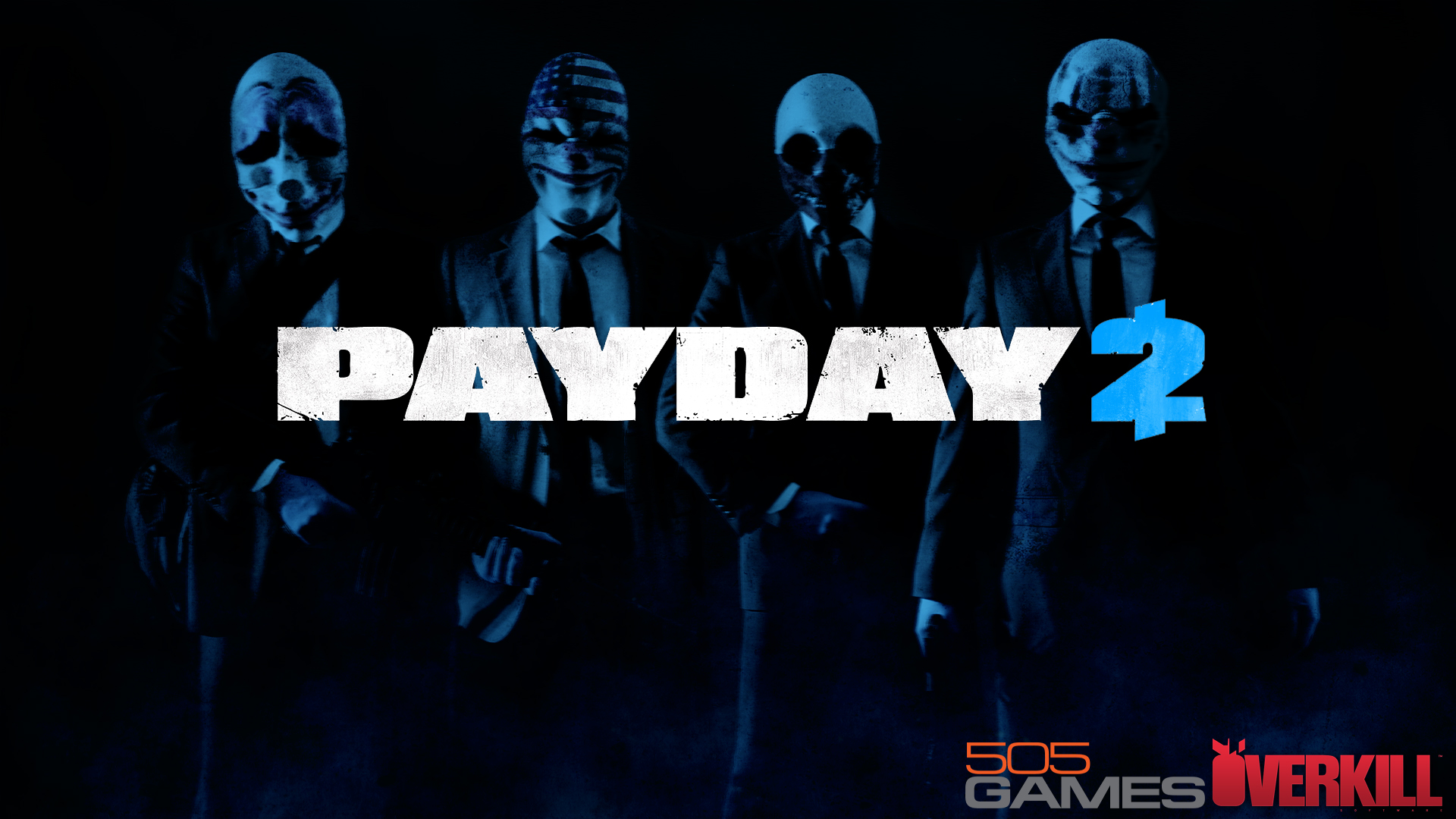 Made This Wallpaper In Anticipation For PAYDAY 2