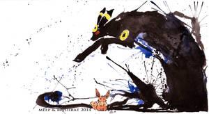 Eevee's Shadow by L-Y-N-S