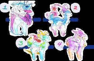 Watercolor Adopts - Mystic Deer [OPEN]