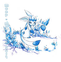 Glaceon's Frost by L-Y-N-S